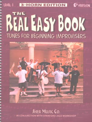 The Real Easy Book Volume 1 Eb Version Partition Jazz - laflutedepan
