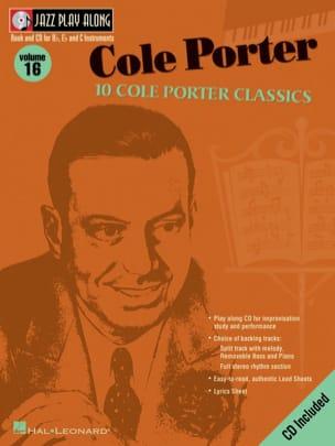 Cole Porter - Jazz play-along volume 16 - Cole Porter - Sheet Music - di-arezzo.co.uk