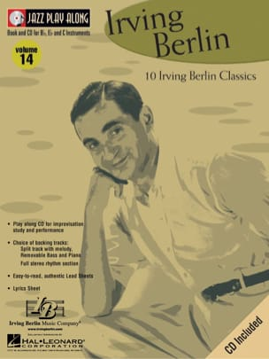 Irving Berlin - Jazz play-along volume 14 - Irving Berling - Sheet Music - di-arezzo.co.uk
