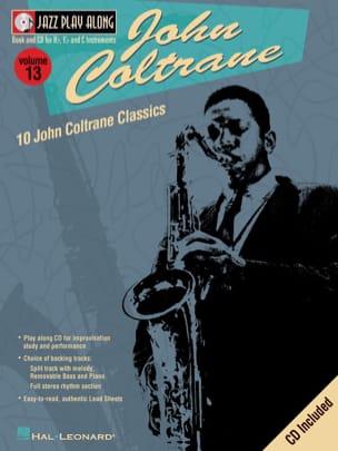John Coltrane - Jazz play-along volume 13 - John Coltrane - Partition - di-arezzo.fr