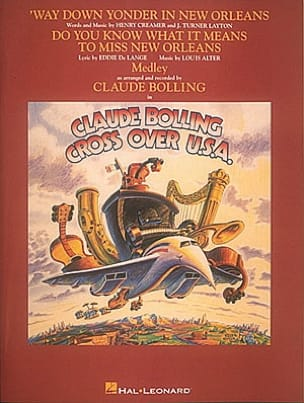 Claude Bolling - Cross Over USA - Sheet Music - di-arezzo.co.uk