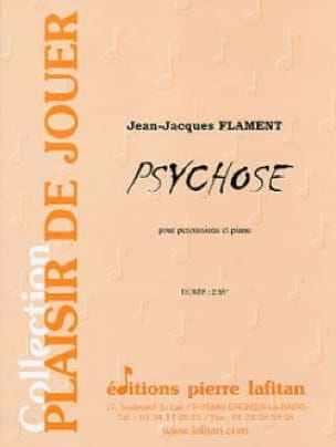 Psychose Jean-Jacques Flament Partition laflutedepan