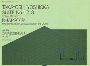 Suite N° 1, 2, 3 / Rhapsody - Takayashi Yoshikoa - laflutedepan.com