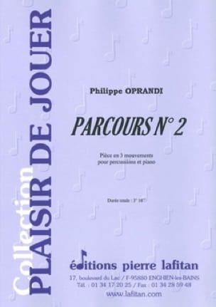 Parcours N° 2 - Philippe Oprandi - Partition - laflutedepan.com