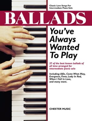 - Ballads You've Always Wanted To Play - Partition - di-arezzo.fr