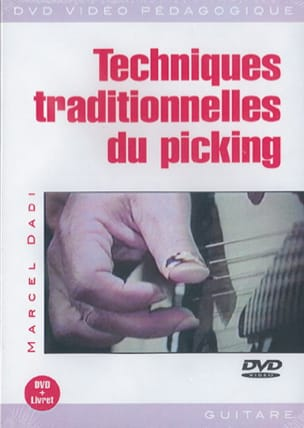 DVD - Techniques Traditionnelles du Picking Marcel Dadi laflutedepan