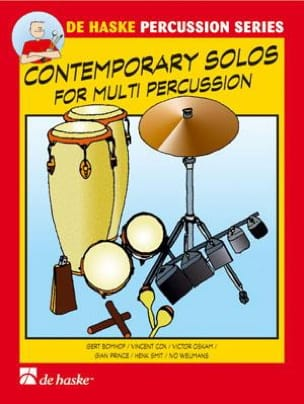 - Contemporary Solos For Multiple Percussion - Partition - di-arezzo.fr