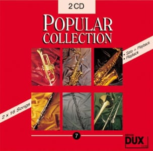 CD Popular collection volume 7 Partition Saxophone - laflutedepan