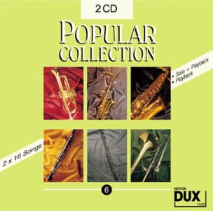 - CD Popular collection volume 6 - Partition - di-arezzo.fr