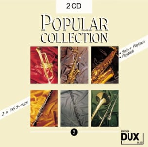 CD Popular collection volume 2 Partition Saxophone - laflutedepan