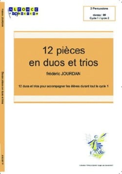 Frédéric Jourdan - 12 Pieces In Duos Trios - Sheet Music - di-arezzo.co.uk