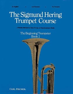 Sigmund Hering - The Sigmund Hering Trumpet Course Book 1 - Sheet Music - di-arezzo.com