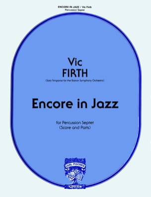 Vic Firth - Encore In Jazz - Partition - di-arezzo.fr