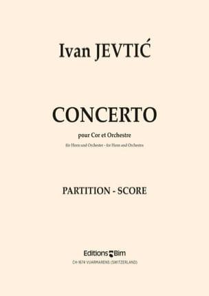 Concerto - Ivan Jevtic - Partition - Cor - laflutedepan.com