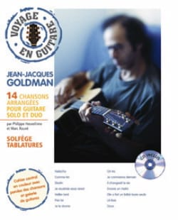 Voyage En Guitare Jean-Jacques Goldman Partition laflutedepan