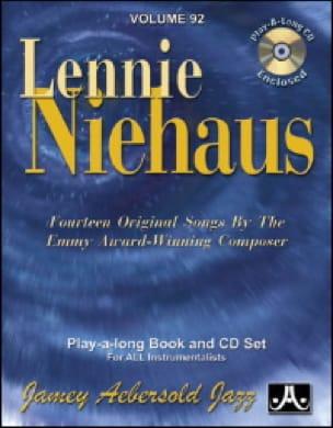 Niehaus Lennie / Aebersold Jamey - Volume 92 - Lennie Niehaus - Partition - di-arezzo.fr