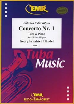 Georg Friedrich Haendel - Concerto N° 1 En G-Moll - Partition - di-arezzo.fr