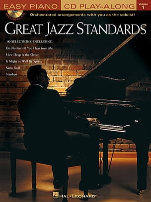 Great Jazz Standards Volume 1 Easy Piano - Partition - di-arezzo.fr