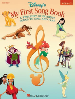 DISNEY - My first songbook volume 2 - easy piano - Sheet Music - di-arezzo.com