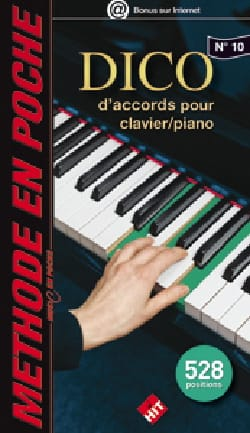 Bernard Larquet - Music in your pocket N ° 10 - Dico chord for keyboard / piano - Sheet Music - di-arezzo.com