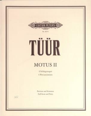 Motus II - Erkki-Sven Tüür - Partition - laflutedepan.com