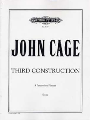 John Cage - Third Construction - Score - Partition - di-arezzo.fr