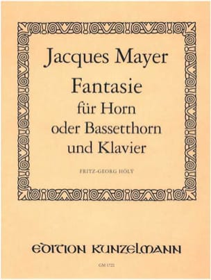 Jacques Mayer - Fantasie - Sheet Music - di-arezzo.com