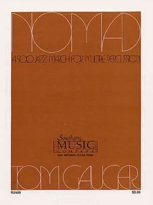 Nomad - Tom Gauger - Partition - Multi Percussions - laflutedepan.com