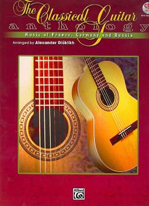 The Classical Guitare Anthology Partition Guitare - laflutedepan