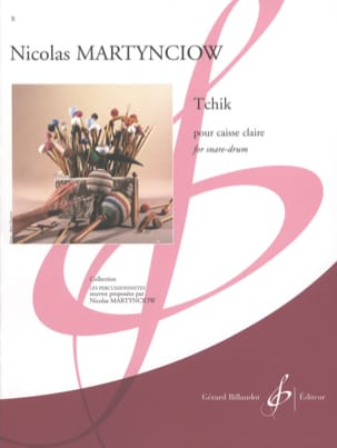 Nicolas Martynciow - tchik - Sheet Music - di-arezzo.co.uk