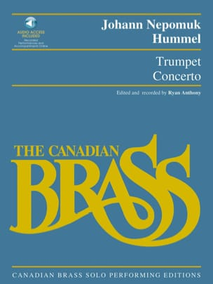 Johann Nepomuk Hummel - Trumpet Concerto - Partition - di-arezzo.fr