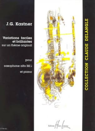 Jean-Georges Kastner - Easy and Brilliant Variations - Sheet Music - di-arezzo.com