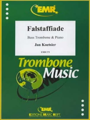 Jan Koetsier - Falstaffiade Opus 134a - Partition - di-arezzo.fr