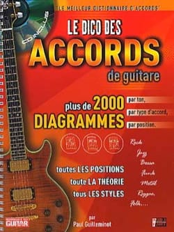 Paul Guilleminot - Le Dico Des Accords de Guitare - Partition - di-arezzo.fr