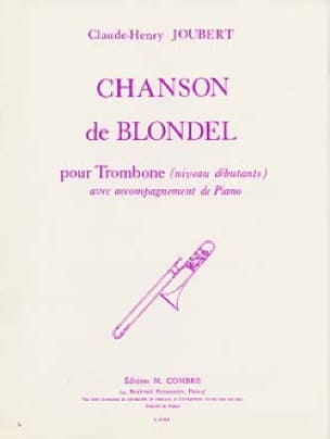 Claude-Henry Joubert - Chanson de Blondel - Partition - di-arezzo.fr