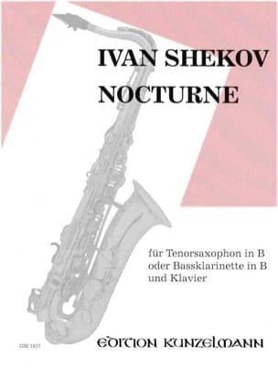Ivan Shekov - Nocturne - Partition - di-arezzo.fr