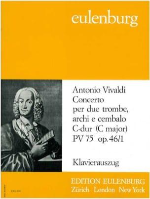Concerto Opus 46/1 Pinch. N° 75 VIVALDI Partition laflutedepan