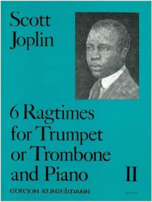 Scott Joplin - 6 Ragtimes Volume 2 - Partition - di-arezzo.fr
