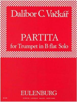 Partita Dalibor C. Vackar Partition Trompette - laflutedepan