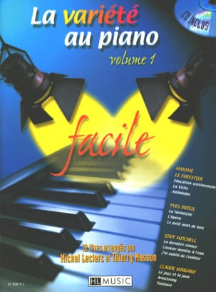 The variety at the piano volume 1 easy - Sheet Music - di-arezzo.com