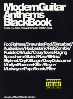 - Moderne Gitarre Anthems Black Book - Noten - di-arezzo.de