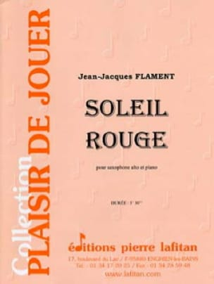 Jean-Jacques Flament - Soleil Rouge - Partition - di-arezzo.fr