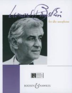Bernstein For Alto Saxophone BERNSTEIN Partition laflutedepan