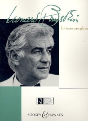 Bernstein For Tenor Saxophone BERNSTEIN Partition laflutedepan