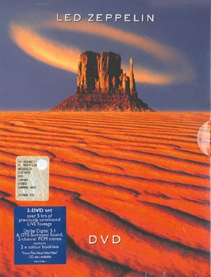 DVD - Led Zeppelin - Zeppelin Led - Partition - laflutedepan.com