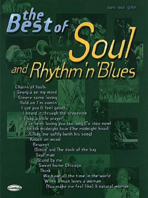 - The Best Of Soul And Rhythm 'n' Blues - Sheet Music - di-arezzo.com
