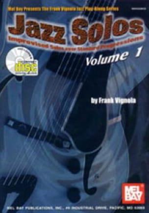 Frank Vignola - Jazz Solos Volume 1 - Partition - di-arezzo.fr