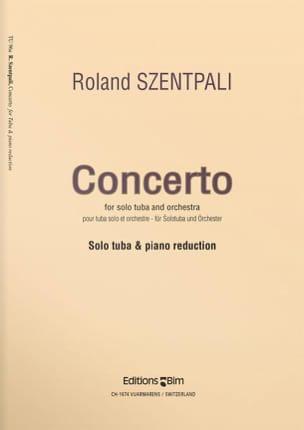 Concerto Roland Szentpali Partition Tuba - laflutedepan
