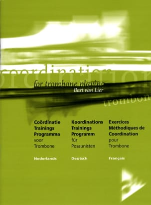 Lier Bart Van - Exercices Méthodiques de Coordination - Partition - di-arezzo.fr