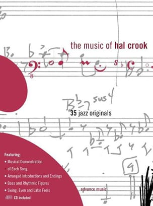 Music Of... 35 Jazz Originals - Hal Crook - laflutedepan.com